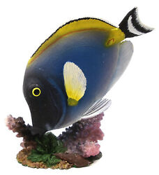 Novelties And Gifts 1255530-b Resin Decorative Tropical Fish - Blue