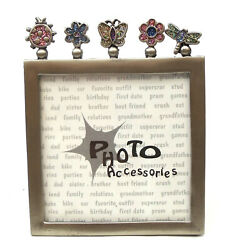 Novelties And Gifts 12560133b Bugs And Plants Die Cut 4 X 5 Picture Frame