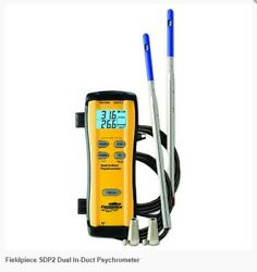 Fieldpiece Sdp2 Wireless Dual In-duct Psychrometer Sdp2 Works With Sman4 Hg3 Jl2