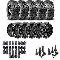 Jegs 681110k75 Wheel And Tire Kit For 1987-2006 Jeep Wrangler/1984-2001 Jeep