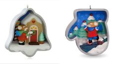 Nib 2014 2016 Hallmark Cookie Cutter Christmas Ornament Lot 3rd And 5th In Series