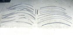 1934 Chrysler Airflow Stainless Grille Molding Trim And Jig To Restore Some Pieces