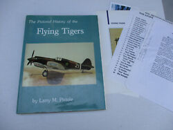 Flying Tigers Ww2 Signed By 50 China Japan Pacific War Collectible Avg 1988