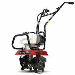 Earthquake 31452 Mac Tiller Cultivator, Powerful 33cc 2-cycle Viper Engine, Red