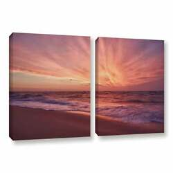 Artwall And039dan Wilsonand039s Outer Banks Sunset Iiiand039 2-piece Extra Large