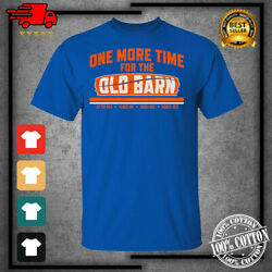 Menand039s 2021 One More Time For The Old Barn New York Islanders Hockey T-shirt New