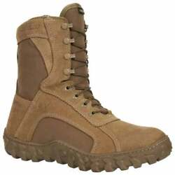 Rocky S2v 8 Inch Waterproof Insulated Tactical Military Mens Work Safety Shoes