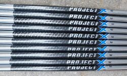 100 Authentic New 2-lw Project X Pxi .355 Taper Tip 5.0 Flex Iron Shafts