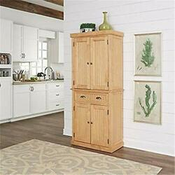 Home Styles Nantucket Pantry - Natural Maple Finish