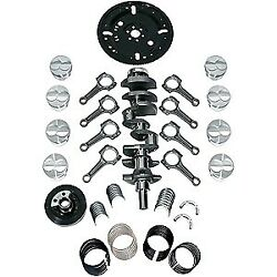Scat 1-94155be Ford 302 Series 9000 Cast Street/strip Rotating Assembly 331ci