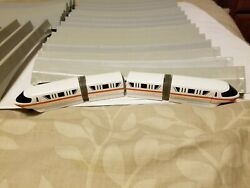 Huge Lot Of Disneyworld Disney Monorail Track And Supports 63 Pieces In Total