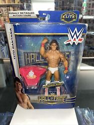 Wwe Tito Santana Elite Hall Of Fame Action Figure New And Sealed