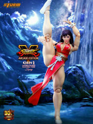 Storm Collectibles Shcc2018 1/12 Chun-li Action Figure Street Fighter Sealed New