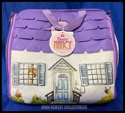 Madame Alexander Fancy Nancy Doll Posh Puppy And Cloth Carrier House Set New