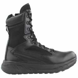 Tactical Research 8 Inch Fatt Maxx Side Zipper Mens Work Safety Shoes Casual