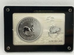 2017 South Africa 3oz Silver 50th Anniversary Krugerrand Silver Bar And Coin Set