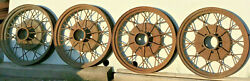 1930 1931 Ford Model A Oem 19 Inch Wheel Rims Set Of 4 Used 28 29