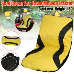 Up To 15 Height Seat Cover Shield 600d For John Deere Lawn Mower Tractor