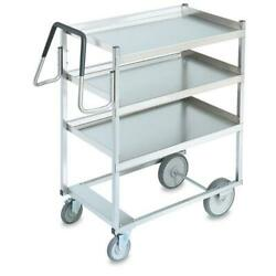 Vollrath - 97203 - 23 In X 35 In 3-tier Stainless Steel Utility Cart