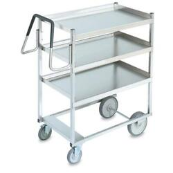 Vollrath - 97201 - 20 In X 35 In 3-tier Stainless Steel Utility Cart