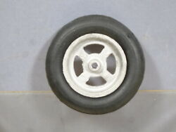 Moko / Lesney Massey Harris 745 Tractor Repro Front Hub And Tyre Large Scale