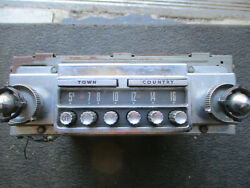 1956 Ford Thunderbird Original Town And Country Radio For Parts /rebuild