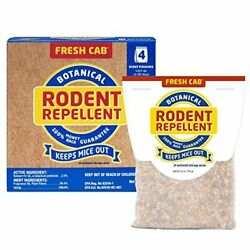 Fresh Cab Botanical Rodent Repellent - Environmentally Friendly12 Scent Pouches