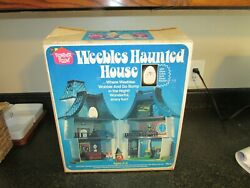 Vintage New Sealed Weebles Haunted House Never Played With Weeble Wobbles