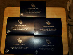 2012-s American Eagle San Francisco Two-coin Silver Proof Set Eg1