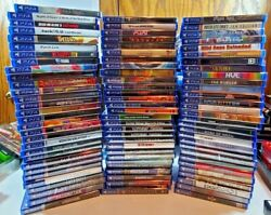Playstation Ps4 Video Game Lot You Pick And Choose All Brand New Rare Titles