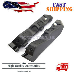 Front Bumper Retainer Brackets Support Spacers Lh Rh For 2011-2015 Kia Optima