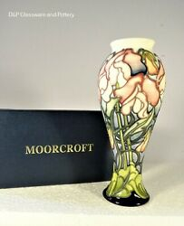 Moorcroft Pottery, Sweetpea Surprise Trial 1st Quality By Emma Bossons.