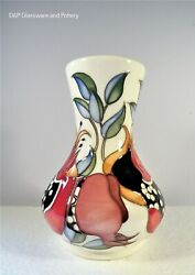 Moorcroft Pottery, Bejewelled 192/7 Vase Limited Edition By Emma Bossons