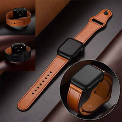 Genuine Leather For Apple Watch Band iWatch 6 5 4 3 2 Series 38mm 40mm 42mm 44mm $9.99