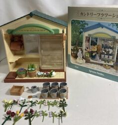 Sylvanian Families / Calico Critters -rare- Vintage Country Flower Shop