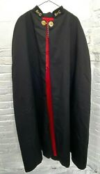Vintage Knights Of Columbus Ceremonial Dress Cape