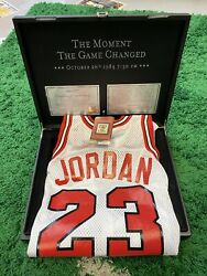 Michael Jordan Mitchell And Ness Rookie Jersey Moment Game Changed 84/1249 Large