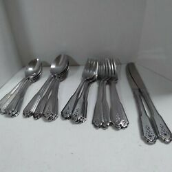 Rogers Norcrest Brentwood Stainless Flatware 23-pcs.