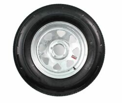 2-pack Mounted Trailer Tire And Rim St175/80r13 Lrd 5-4.5 Galvanized Spoke Wheel