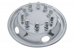 22-1/2 O.d. Stainless Front Wheel Simulator Set - 5 Vent Holes, Hub Piloted
