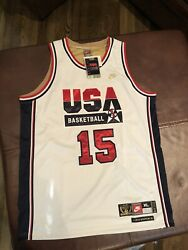 Nike 1992 Usa Olympic Dream Team Magic Johnson Exclusive Gold Jersey Xl