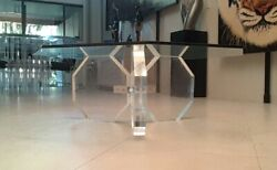 Mid-century Lucite Coffee Table From Charles Hollis Jones