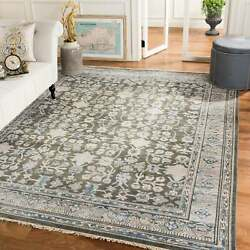 Safavieh Couture Hand-knotted Sultanabad Atie Traditional Blue/charcoal 9and039 X 12and039