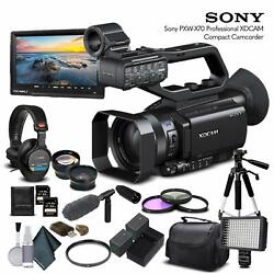 Sony Pxw-x70 Professional Xdcam Compact Camcorder Starter Bundle 03