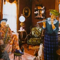 The Art Of Susan Brabeau Girls In The Band 1000 Piece Puzzle