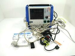 Zoll M-series Cct Biphasic 200 Joules Max With Spo2 Leads Ecg Etco2