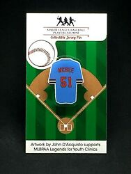 St. Louis Cardinals Willie Mcgee Jersey Lapel Pin-classic Throwback Collectable