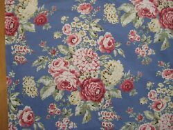Eddie Bauer Home Cottage Rose Chambray Floral 100 Cotton 2 King Pillow Shams