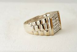 Diamond Cluster Ring, 18k Yellow Gold, Size 9.5