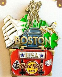2020 HARD ROCK CAFE BOSTON 3D POP UP SUITCASE SERIES LE PIN
